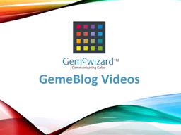 Lotie Gem Blog Video